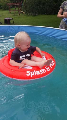 Pool mit Schwimmhilfen