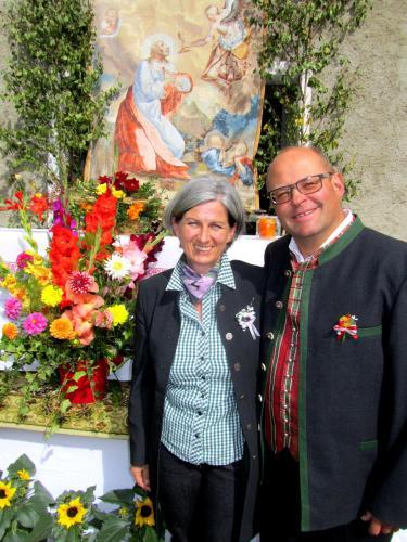 Wolfgang Mössler und Astrid Hofer