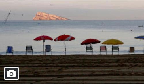 Maravillosa playa de Benidorm