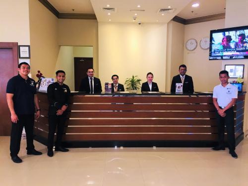 Front Desk Team