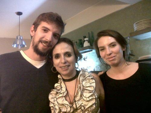 Santiago, Andrea y Luciana