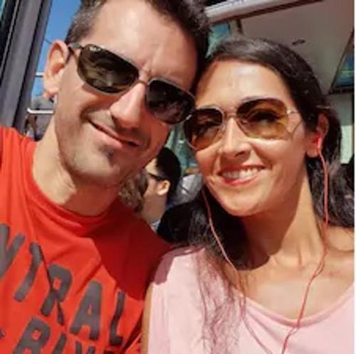Raquel y Diego