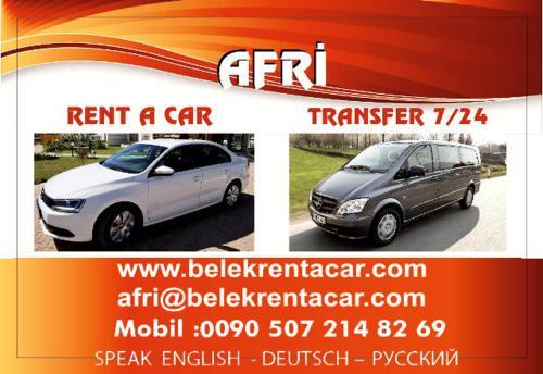 Afri Rent A Car Belek