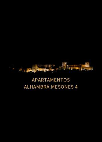 APARTAMENTOS ALHAMBRA.MESONES 4