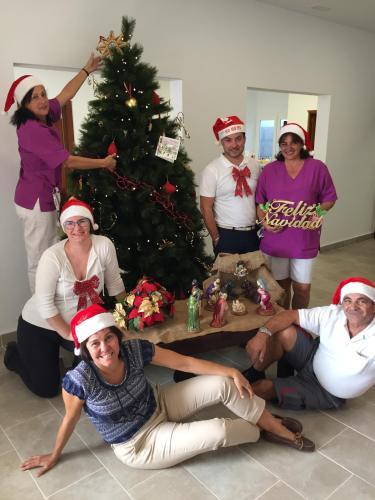 Stefano, Anne-Sophie, Agueda, Rosa, Julio, Lissett, Fátima