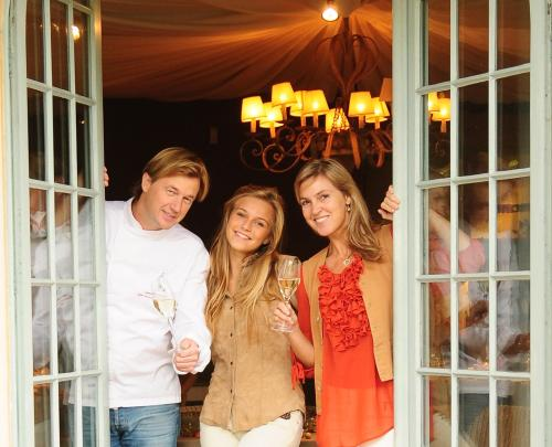uw gastgezin Isabelle, Lieven en Amber-Lynn