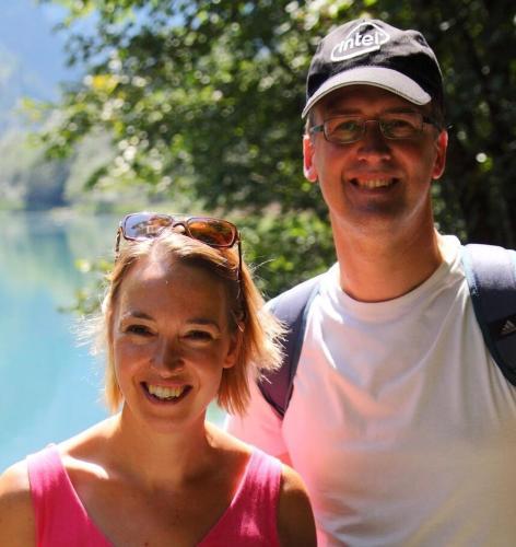 Caroline and Neil Cox