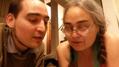 Noemí y Pablo (madre e hijo)