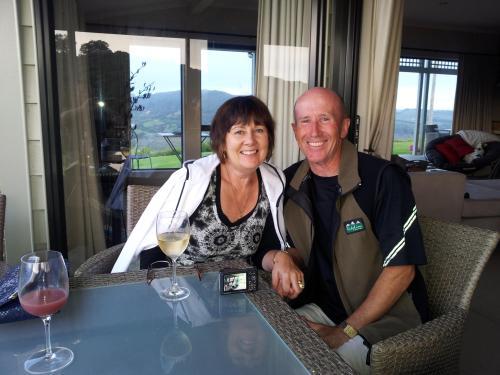 Yvonne and Graeme O'Brien