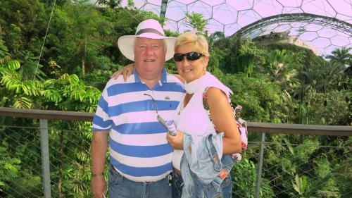 Paul and Eda.