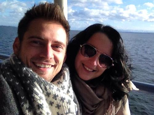 Your hosts Christian & Angela
