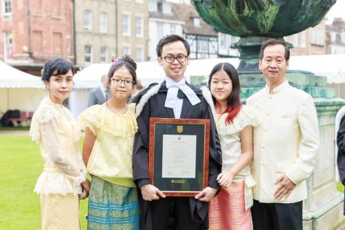 Thirawat (Alex) and family