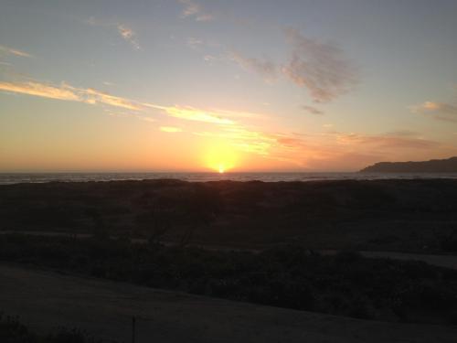 Sunset en la playa