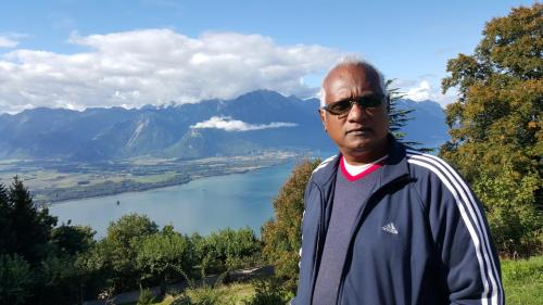 Mr Ashok Jheelan, your host and owner of The Impala Maurititus holiday rentals.