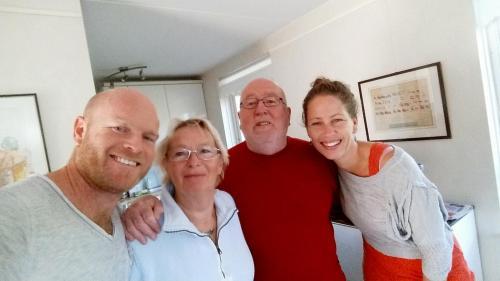Rob, Henny, Robert & Xandra