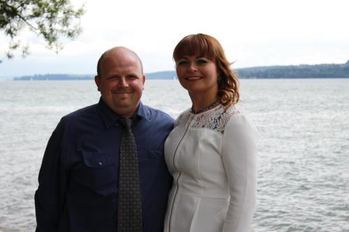 Ivanna Eisfeld mit Ehemann