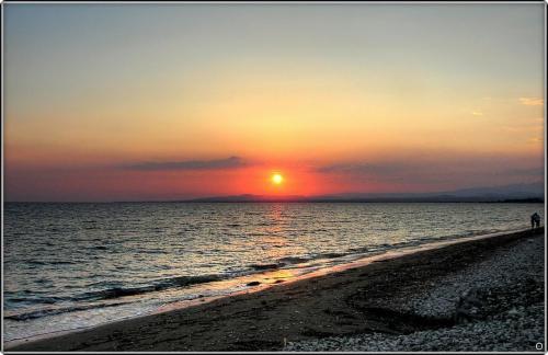 SUNSET AT PERVOLIA